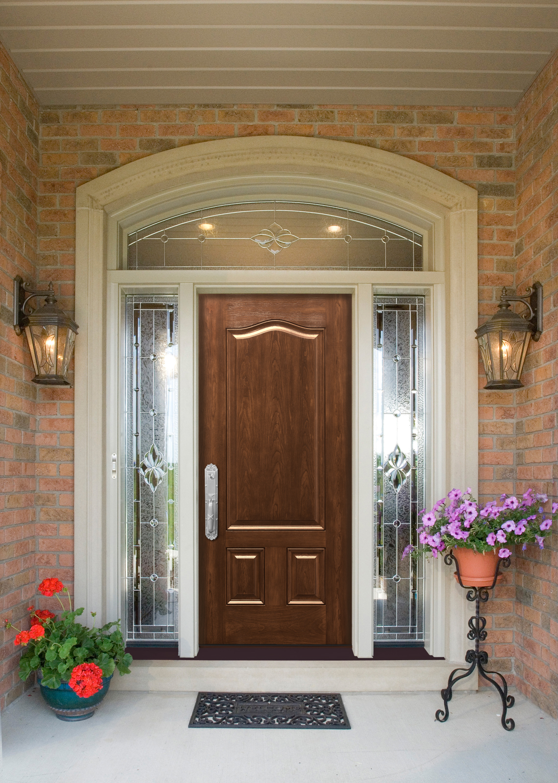 Entry doors by provia cunningham door window for Residential front entry doors